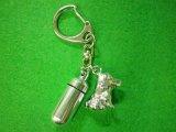 「絆」ペットメモリアル 遺骨カプセルキーホルダー(カプセル 小) バーニーズマウンテンドッグ