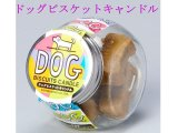 【ペット用ロウソク】カメヤマ「ドッグビスケットキャンドル」